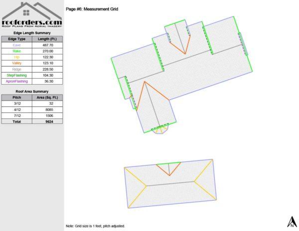 sample roof order