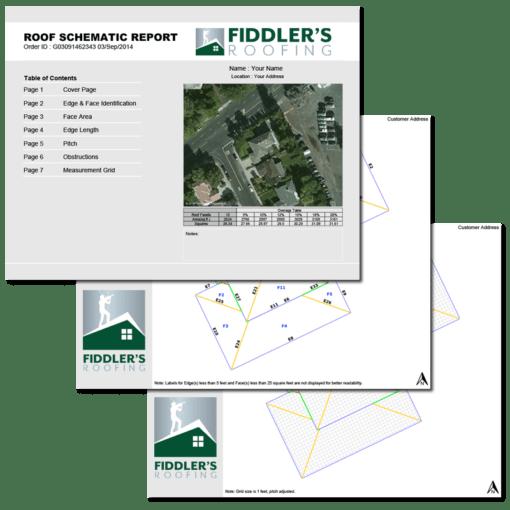 satellite roof measurement