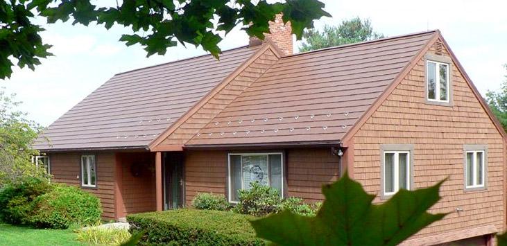 oxford mustang brown shingles