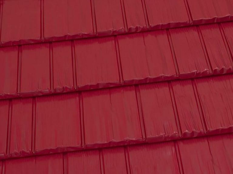 brite red shingles