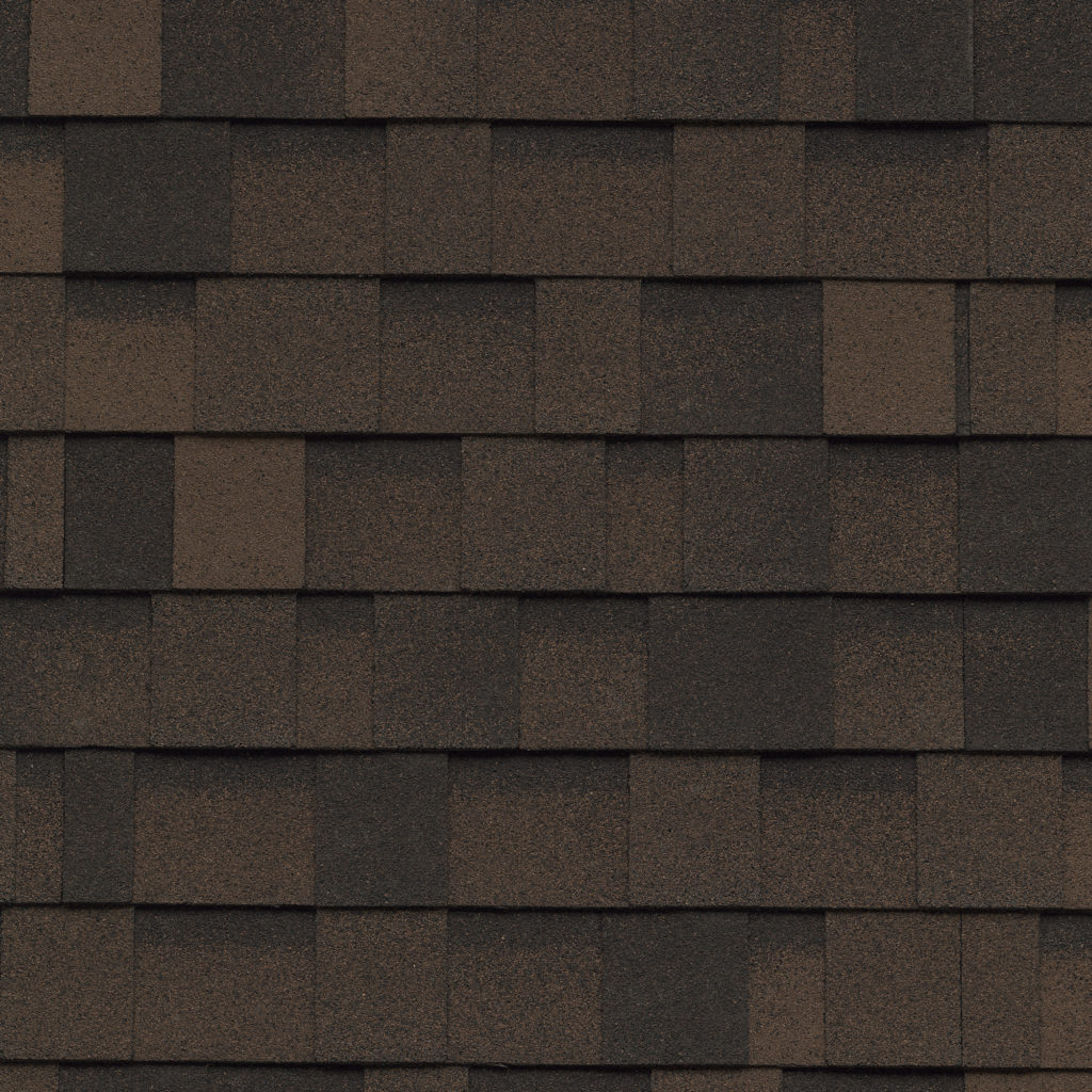 shadow brown shingle roofing