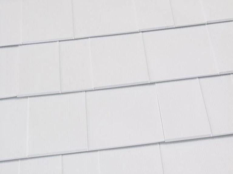 white shingles