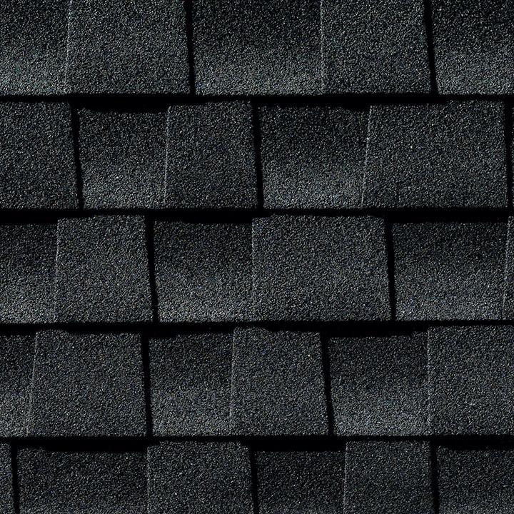 Charcoal shingles